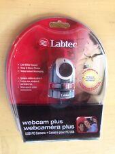 Labtec Webcam Plus, USB PC Camera, Live Video Images Photos, 961399-0403
