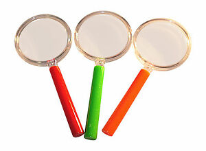 Plastic Magnifying Glass Great For Party Bags and Bug hunting From Just 39p Each
