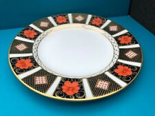 "Royal Crown Derby 1st Quality Old Imari 1128 Border 8"" Side Plate"