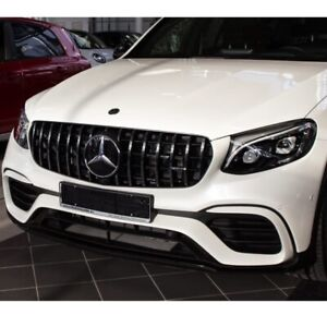 OEM Mercedes-Benz GLC 43 AMG Panamericana grille GLC300 SUV/Coupe Facelift