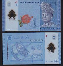 Malaysia 1 Ringitt 2012 Polymer Issue, Pick 51 Mint Unc