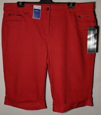 """WOMEN'S SHORTS MILLERS SLIMS & TRIMS STRETCH SIZE 22 LEG 14"""" NWT FREE POSTAGE"""