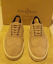New Cole-Haan Bergen Wingtip 8 M ginger snap sueded leather (3842)