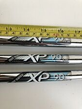 3x True Temper XP90 R300 Regular Flex Shafts 3.55  With Golf Pride Grips New