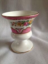 Crown Staffordshire Pink Tunis Urn Vase