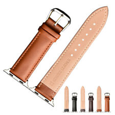 Bracelet Leather Strap Loop Watch Band For iWatch Series 5 4 3 2 1 Apple Watch