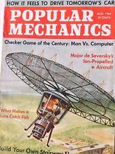 Popular Mechanics Magazine Checker Game Of Century August 1964 090417nonrh
