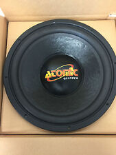 "ATOMIC QUANTUM 15"" 4,000 WATT 4 OHM SUBWOOFER Top of the line Retails $420 #11"