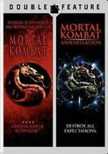 Mortal Kombat 1 & 2  DVD Christopher Lambert, Robin Shou, Talisa Soto, James Rem