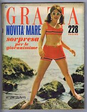 Grazia N. 1317, 1966 – Giancarlo Giannini, Fashion swimsuit '66,Paul Géraldy