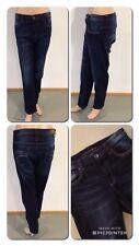 Sahara Denim Jeans Blau Strass Stretch Gr 40 L30 1A Zustand