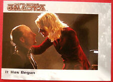 BATTLESTAR GALACTICA - Premiere Edition - Card #4 - It Has Begun