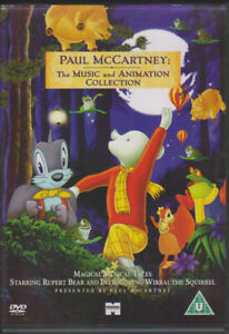 Rupert and the Frog Song (animated short) + Tuesday etc Paul McCartney UK R2 DVD