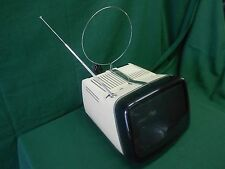 """Brionvega ALGOL 11"""" pollici BIANCO TV B/N Vintage Design Space Age ZANUSO SAPPER"""