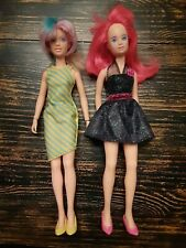 Vintage Hasbro Jem and the Holograms Fashion Dolls Lot of 2.Redressed