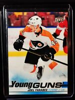 ComC Uncirculated Stock - Joel Farabee2019-20 UD #491 Young Guns Rookie Card RC