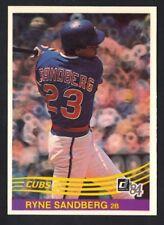 1984 DONRUSS RYNE SANDBERG #311 CUBS NM-MT (REF 8933)