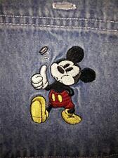 Mickey Mouse Denim L/S Large L Disney Store