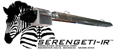 Serengeti-IR Residential Radiant Infrared Gas Fired Garage Heater-Straight Sys