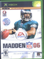 XBOX EA SPORTS MADDEN NFL 06 WITH MANUAL
