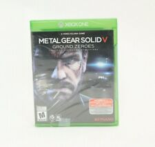 Metal Gear Solid V Ground Zeroes Xbox One NEW Not Mint
