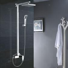 Duschset Duscharmatur Duschkopf Handbrause Aufputz Grundkörper Duschsystem Chrom