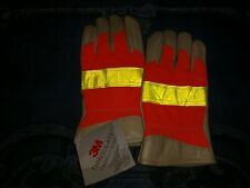 3M Thinsulate Industrial Leather Safety Gloves 2XL Insulation/Isolant NWT