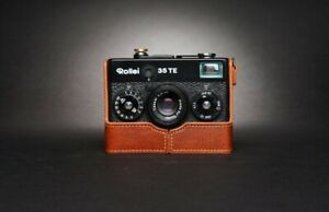 Leather Half Case for Rollei 35, 35S, 35TE, 35T (choice of colours) - BRAND NEW