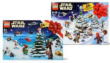 LEGO Star Wars Set 2 x Adventskalender 75245 /2019 + 75213 /2018 Weihnachten