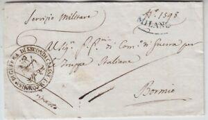 Italien Vorphila Mailand - Bormio 1805