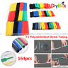 164PCS Polyolefin Heat Shrink Tube Tubing Insulated Assorted Sleeve Wire Cable