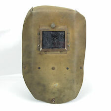 Vintage Welding Mask Shield Hood Helmet Cardboard Great Decoration Steampunk #48