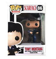 Funko POP Scarface Tony Montana # 86 Vinyl Action Figures Collection Model Toys