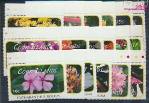 Cookinseln 1618-1635 MNH 2010 clear brands: Plants (8610139