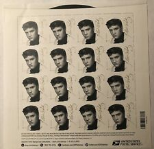 PANE OF 16 ELVIS FOREVER STAMPS MNH