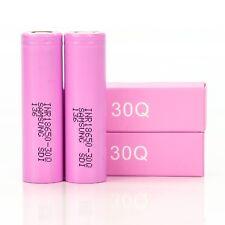 2x Samsung 30Q 3000mAh 15A INR 18650 batteries | Authenttic Battery INR18650-30Q
