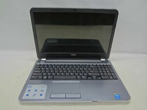 "Dell 5537 15.6"" Laptop 1.6Ghz i5-4200U 4GB RAM Grade B No Battery, Caddy, Cover"