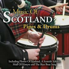MUSIC OF SCOTLAND PIPES & DRUMS BRAND NEW 2 CDSET SEALED MULL OF KINTYRE & MORE