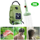 1PC 20L PVC Portable Shower Heating Pipe Bag Solar Water Heater Outdoor Camping