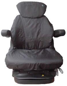 Schonbezug Sitzbezug für Grammer Maximo Compacto Schleppersitz Stapler NEU OVP!!