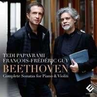 Francois-frederic Guy & Tedi Papavrami - Complete Sonatas For Piano An NEW CD