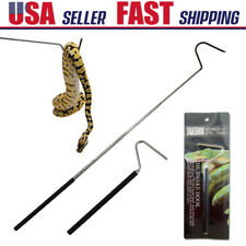 Adjustable Telescopic Stainless Steel Snake Hook Catcher Reptile Handling Tool