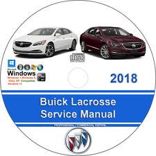 Buick Lacrosse 2018 Factory Workshop Service Repair Manual