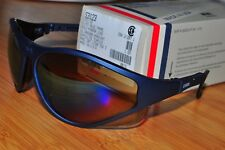 Uvex Eyewear Safety Glasses S3123X U2 Slate Blue Frame Gold Mirror Lens USA