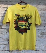 Vintage 1988 Vannin T Shirt M Car Show Van 50/50 Yellow Springfield, Ohio EUC