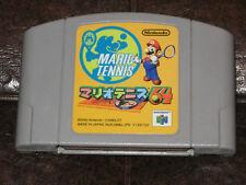 Mario Tennis - Nintendo 64 N64 JP Japan Import Tenis