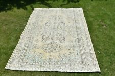 Anatolian Area Size Rug Antique Home Decor Living Room Nomadic 7x9 feet