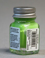 TESTORS PAINT SUBLIME GREEN GLOSS ENAMEL 1/4oz JAR plastic model car TES1125