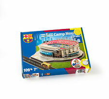 BARCELLONA CAMP NOU FOOTBALL STADIUM 3D Puzzle 109 pezzi
