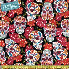 "Crafts Skull 100% Cotton 45"" Fabric"